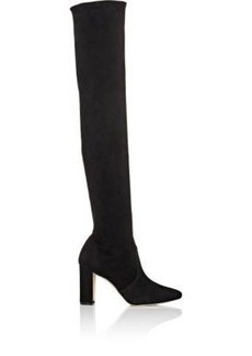 Manolo Blahnik Women's Pascalla Over-The-Knee Boots