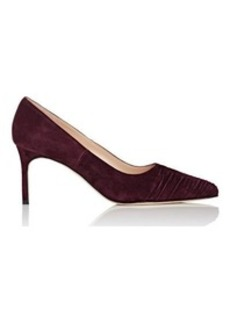 Manolo Blahnik Women's Plizate Pumps-PURPLE Size 6.5