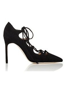 Manolo Blahnik Women's Rogustta Lace-Up Pumps