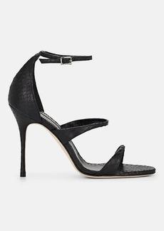 Manolo Blahnik Women's Snakeskin Sandals