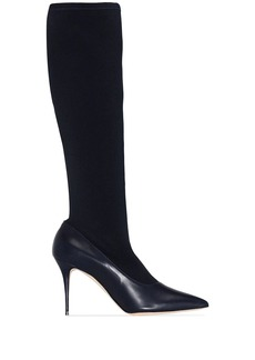 Manolo Blahnik Saipla knee-high boots