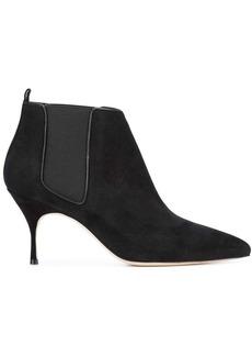 Manolo Blahnik stiletto ankle boots
