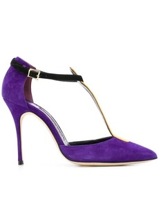 Manolo Blahnik Vree T-bar pumps