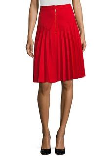 Manoush Jupe Basic Pleated Skirt
