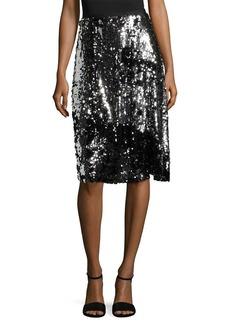 Manoush Sequin Trash Skirt