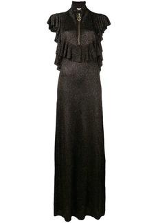 Manoush open back ruffle dress