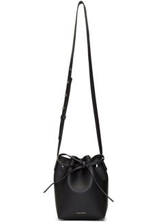 Mansur Gavriel Black Mini Mini Bucket Bag