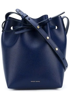 Mansur Gavriel bow-tied bucket bag