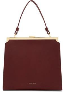 Mansur Gavriel Burgundy Elegant Bag