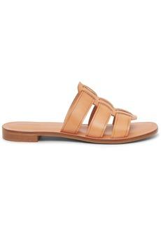 Mansur Gavriel Caprese leather slides