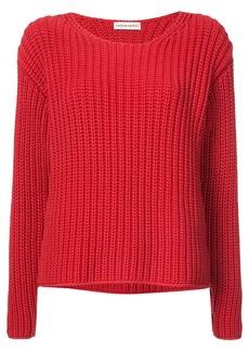 Mansur Gavriel chunky knit sweater - Red