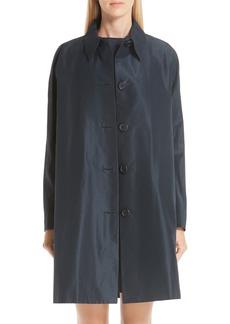 MANSUR GAVRIEL Cotton & Silk Taffeta Coat