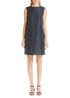 MANSUR GAVRIEL Cotton & Silk Taffeta Shift Dress
