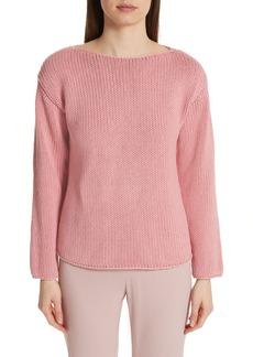 MANSUR GAVRIEL Cotton Boatneck Sweater