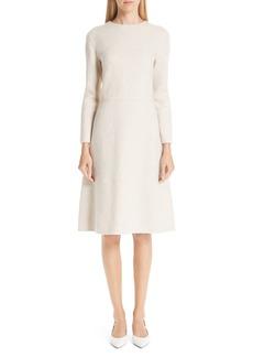 MANSUR GAVRIEL Double-Face Cashmere Shift Dress