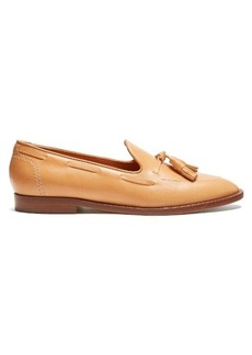 Mansur Gavriel Double-tassel leather loafers