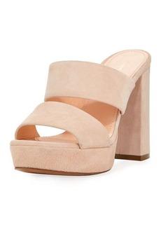 Mansur Gavriel Dual-Strap Platform Slide Sandal
