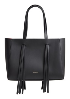Mansur Gavriel Fringe Leather Satchel