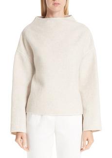 MANSUR GAVRIEL Funnel Neck Double-Face Cashmere Sweater