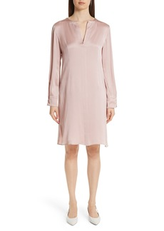 MANSUR GAVRIEL Hammered Silk Shift Dress
