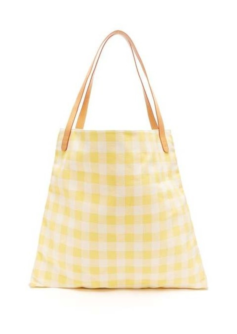 Mansur Gavriel Hobo oversized canvas tote bag