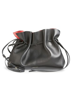 Mansur Gavriel Lambskin Leather Drawstring Bag