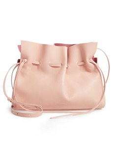 Mansur Gavriel Lambskin Leather Drawstring Bag