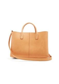 Mansur Gavriel Light-pink lined folded leather bag