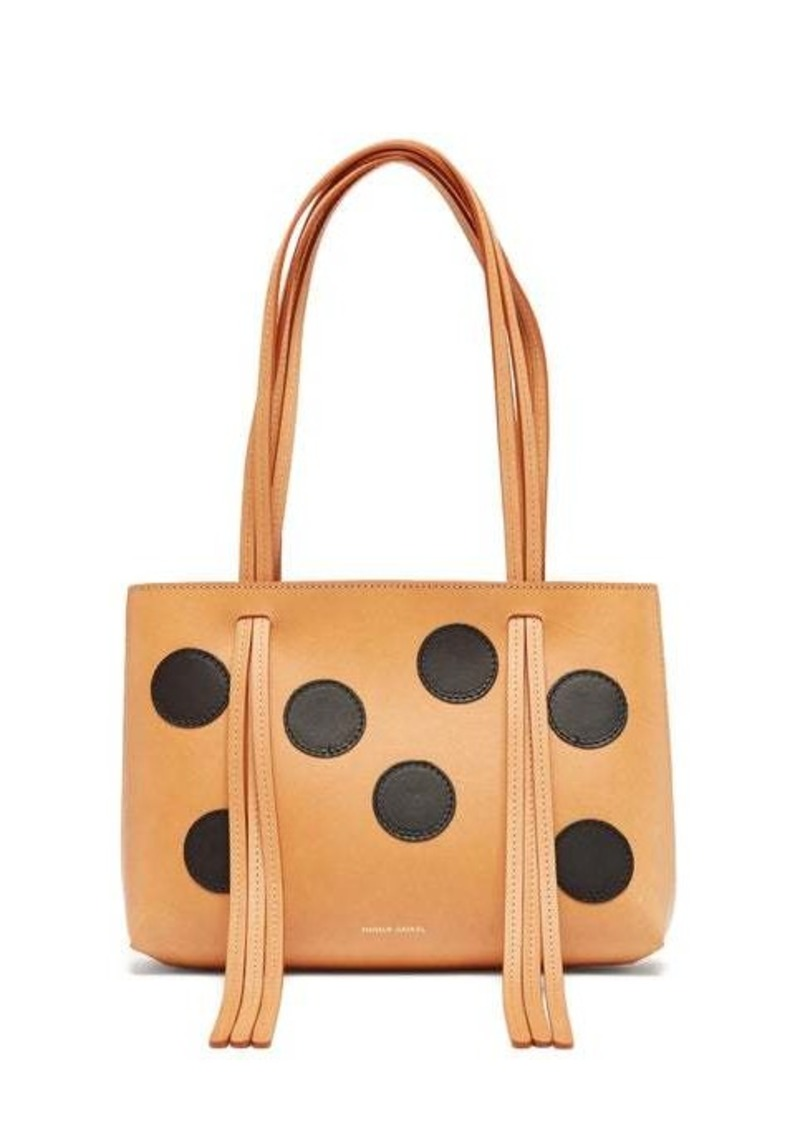 Mansur Gavriel Mini Fringe dotted leather bag