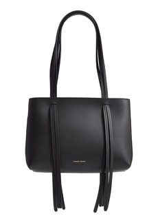Mansur Gavriel Mini Fringe Leather Satchel