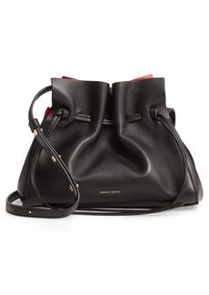 Mansur Gavriel Mini Lambskin Leather Drawstring Bag