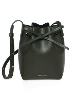 Mansur Gavriel Mini Mini Leather Bucket Bag