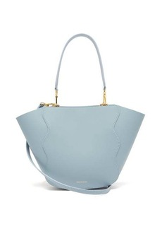Mansur Gavriel Mini Ocean leather tote bag