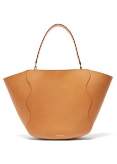Mansur Gavriel Ocean pink-lined leather tote bag