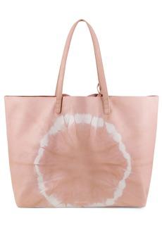 Mansur Gavriel Oversize Tie Dye Leather Tote - Pink