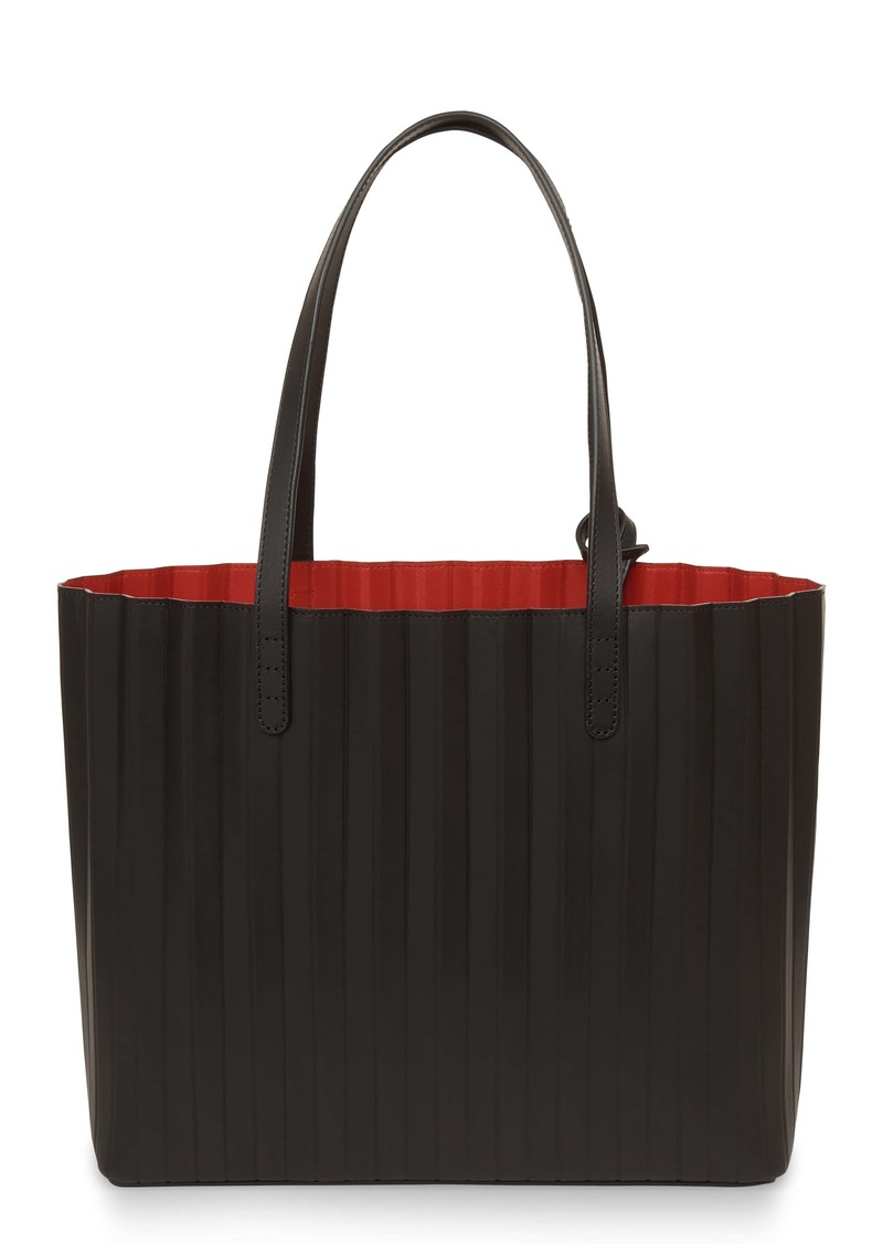 Mansur Gavriel Pleated Leather Tote