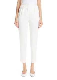 MANSUR GAVRIEL Pleated Tapered Trousers