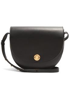 Mansur Gavriel Saddle leather shoulder bag
