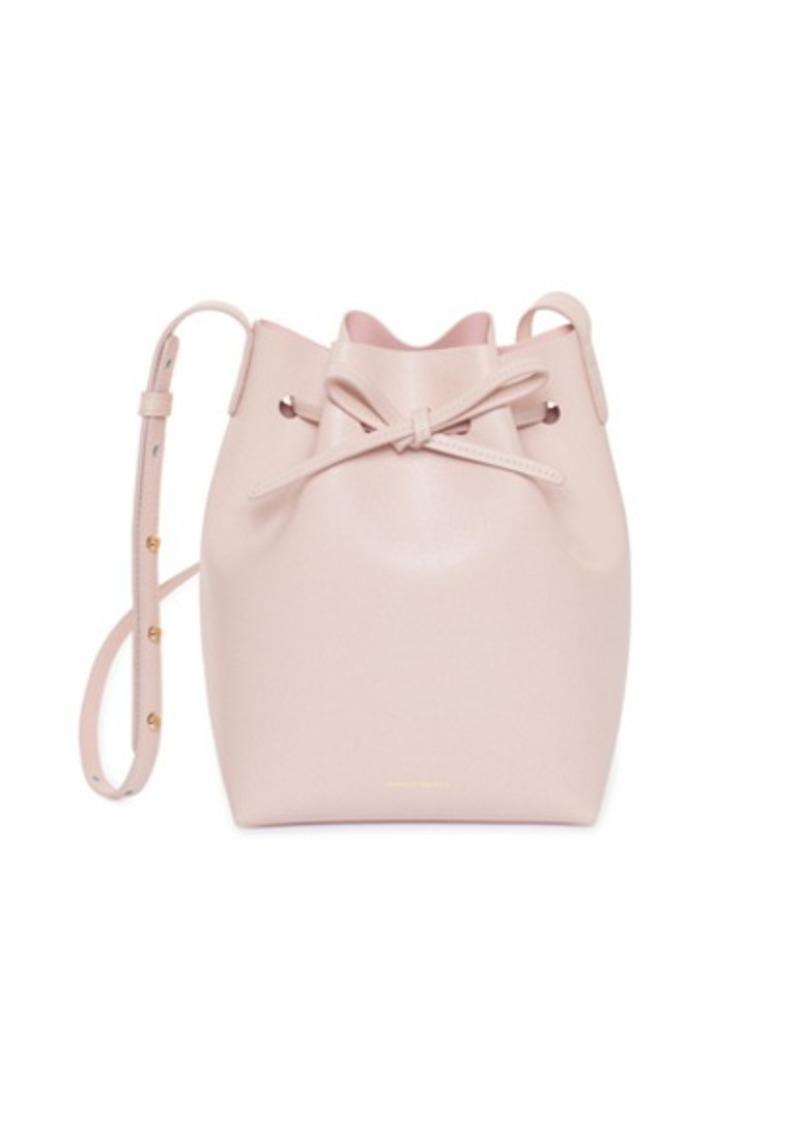 Mansur Gavriel Mansur Gavriel Saffiano Mini Bucket Bag