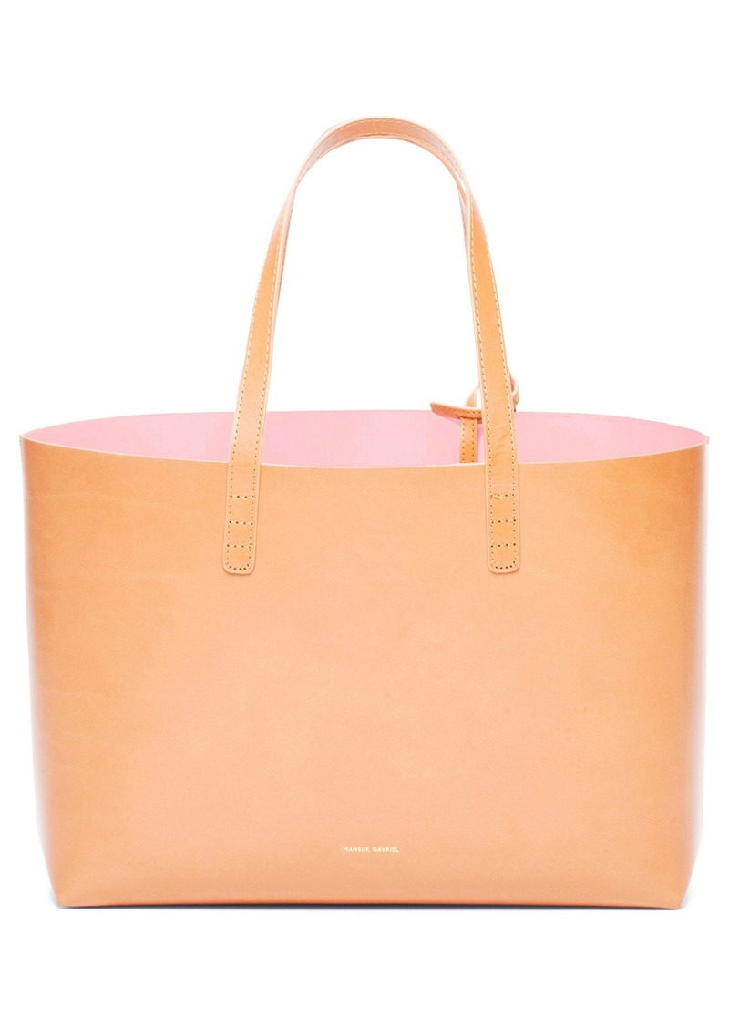 Mansur Gavriel Small Leather Tote