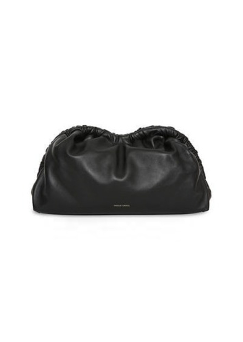 Mansur Gavriel Soft Ruffled Clutch Bag