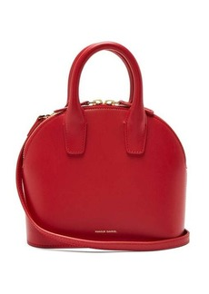 Mansur Gavriel Top Handle mini leather bag