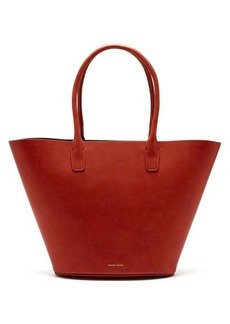 Mansur Gavriel Triangle leather tote