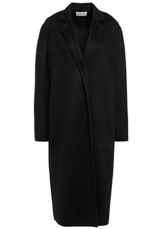 Mansur Gavriel Woman Cashmere-felt Coat Black