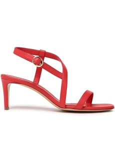 Mansur Gavriel Woman Leather Sandals Red