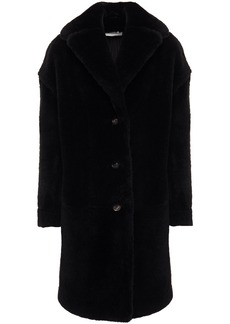 Mansur Gavriel Woman Shearling Coat Black