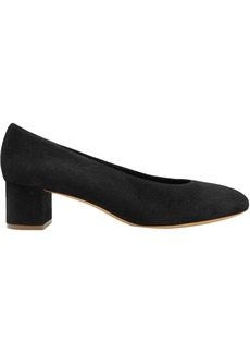 Mansur Gavriel Woman Suede Pumps Black