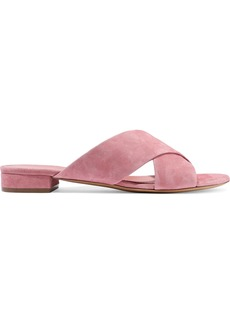 Mansur Gavriel Woman Suede Sandals Antique Rose
