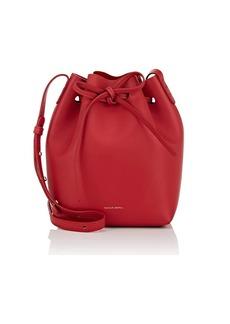 Mansur Gavriel Women's Leather Mini Bucket Bag - Red