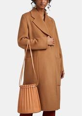 Mansur Gavriel Women's Pleated Leather Bucket Bag - Beige, Tan